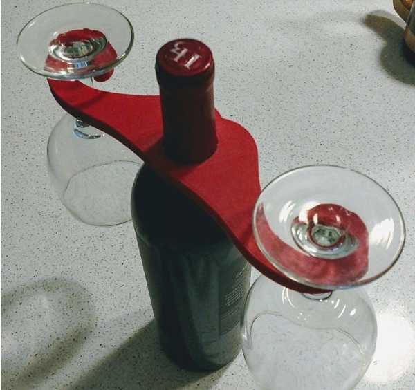 Toptan  Bıyık Şarap Butler Plastik Aparat