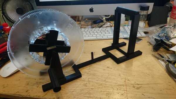 Toptan Küp 3 3D Yazıcı Filament Rewinder Büyük Makara Plastik Aparat