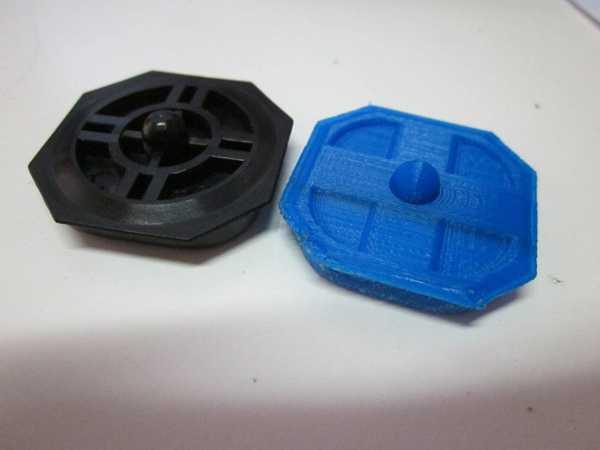 Sega Master Sistem Değiştirme D-Pad Organik Plastik Aparat
