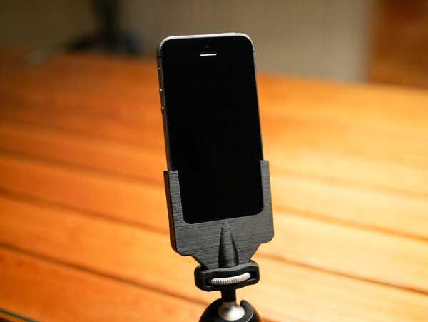 Iphone 5s tutucu, standart fografi 1 / 4-20 tripod vidasına uyar