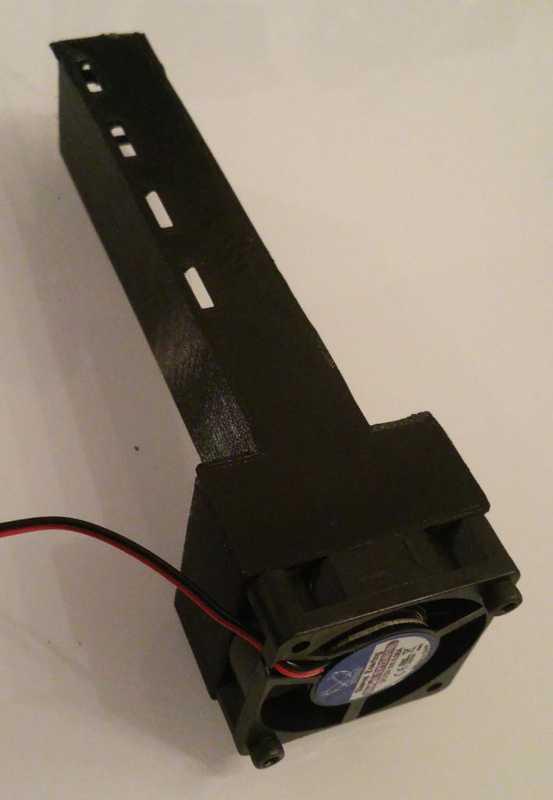 4xTMC2130 için anycubic 40x40 sürücü fanı  Organik Plastikten