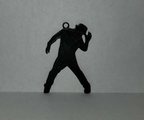 Dansçı Anahtarlık ucu  Organik Plastikten Anahtarlık Dekoratif