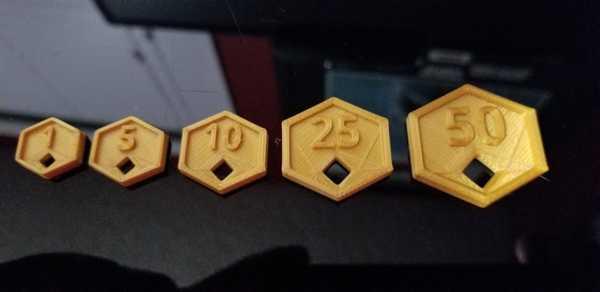 D&D Altın Paralar Dekoratif Süs Eşyası Aksesuar Maket Sayı Sayma