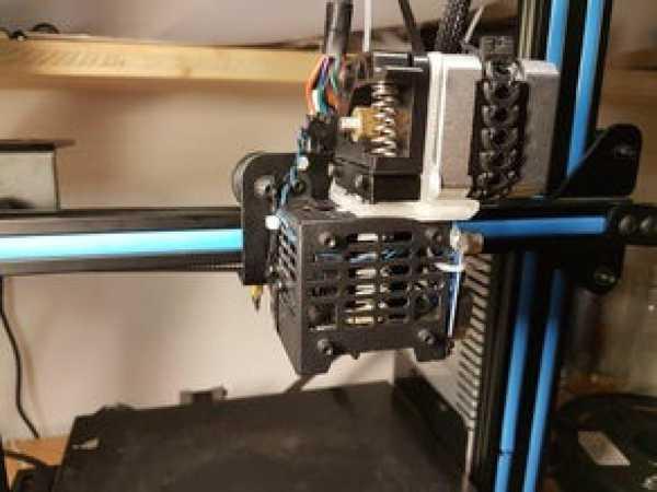 Geeetech A10 için doğrudan sürücü montajı (stok parçalar)