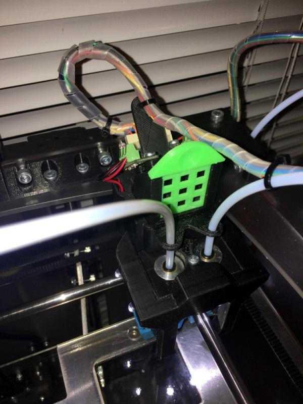 Toptan Velleman Vertex K8400 Hava Emme Üzerinde E3D Çift Kafa Plastik Aparat