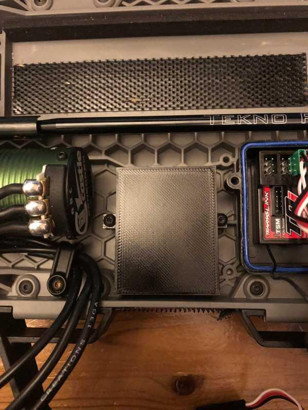 Traxxas Slash 4x4 1/10 SV3 Sidewinder SCT ESC Montajı  Aparat