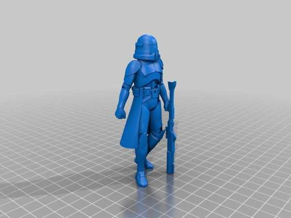 Toptan Star Wars Airborne Klon Trooper Dekoratif Hediyelik Süs Biblo