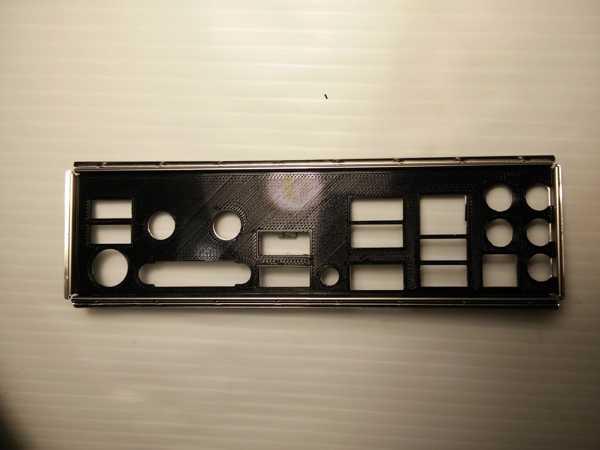 ASRock Z97E-ITX IO Shield kapağı Tutucu Dekoratif Aparat