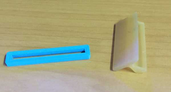 CEL Robox nozul silici desteği  Organik Plastikten Dekoratif