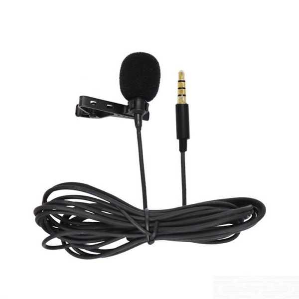 Yaka Mikrofonu Profesyonel Ses Kayıt USB 1.5 m Kablo 3 ÇİZGİLİ