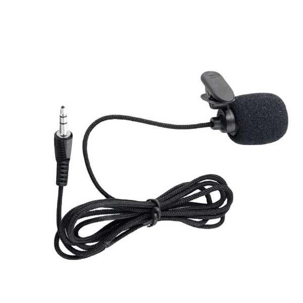 Yinwei YW-001 Yaka Mikrofonu 3.5 mm 2 M Kablo Ses Kayıt