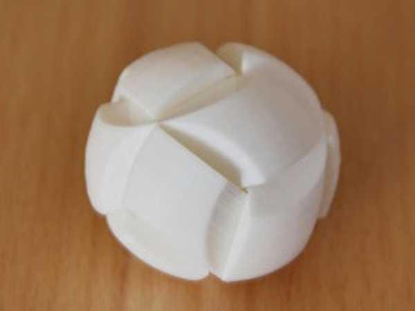 Altı parçalı futbol topu bulmaca Dekoratif Hediyelik Süs Eşyası