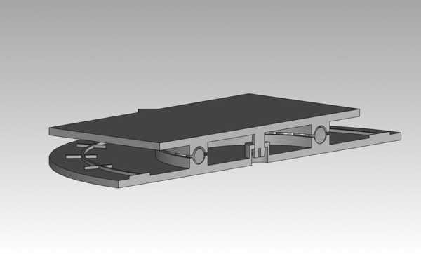 Toptan 6Mm Bb Rulman Ver İle Döndürülebilir. 0.2 Plastik Aparat