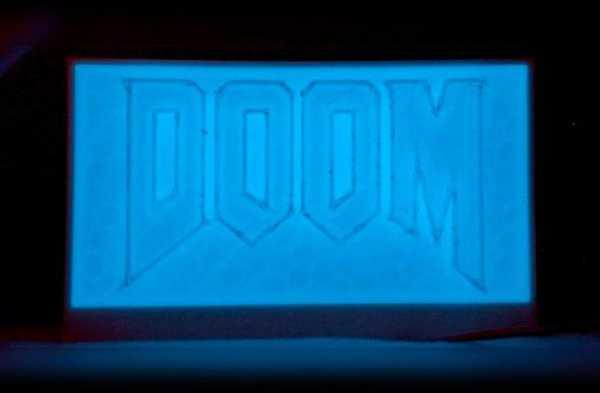 Doom Utilities: Başucu Lambası - Floresan Plastik Aparat