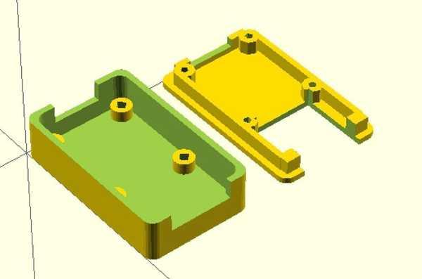 Sparkfun Usb İçin Konut Rs-485 Converter Plastik Aparat