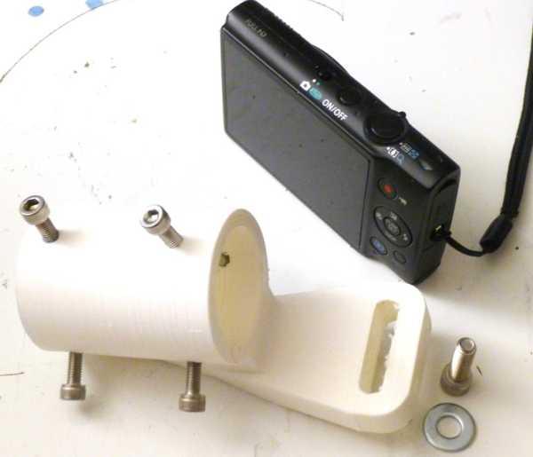 Kompakt kamera için mikroskop adaptörü Tutucu Aparat