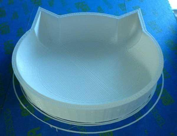 Kedi Mama Su Yemek Yemeği Kabı Tabak Kap Organik Plastikten