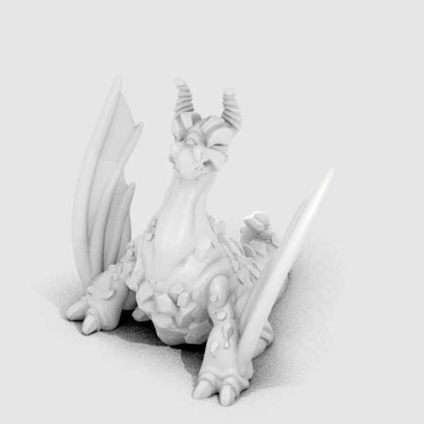 Volkan Ejderhası Eruptron Dekoratif Biblo Dekor