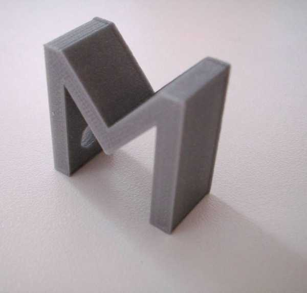 Anahtar tutucu olarak M harfi  Hediyelik Anahtarlık Dekoratif
