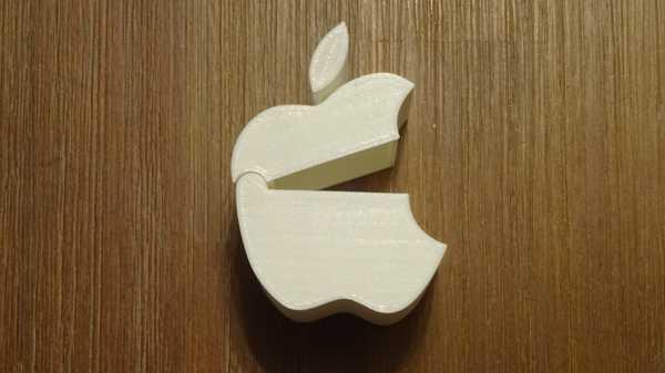Apple Logo Şeklinde Kutu Dekoratif Biblo Dekor  Hediyelik Süs