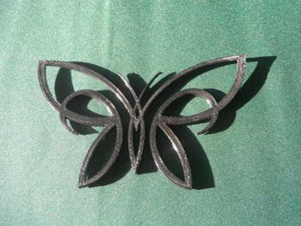 Kelebek Dekoratif Aksesuar Hediyelik Çerçeve içi Süs Eşyası