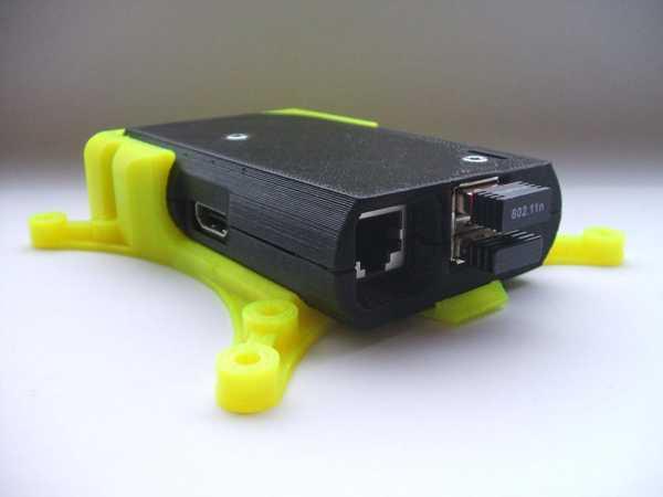Toptan Raspberry Pi Case Vesa Tutucu (Hızlı Fit) Plastik Aparat