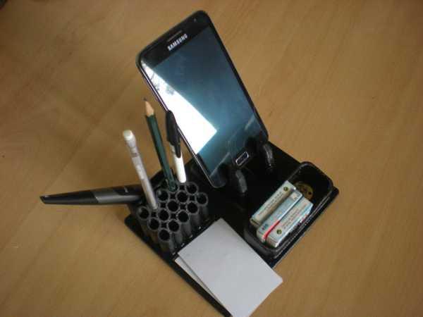 Masaüstü düzenleyici Organizer Telefon Tutucu kartlık kalemlik