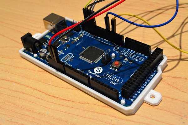 Arduino Mega 2560 Montaj Kılıf Kutu Alt Kapak Plaka Tutucu Asma
