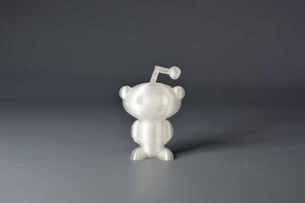 Reddit Snoo 49mm Logo  Organik Plastik Süs Eşyası