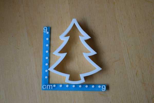 Noel Yılbaşı ağacı kurabiye kesici Kalıbı Kek Kalıp