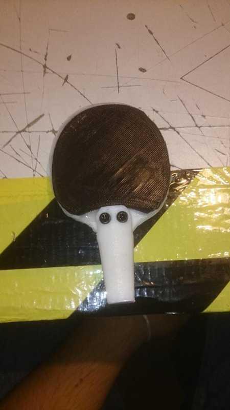 Ping-Pong Mi̇ni̇ Raket Plastik Aparat