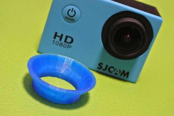 Sj4000 Vücut İçin Lens Koruma Başlığı Plastik Aparat