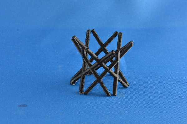 Hiperboloit Biblo Dekoratif Hediyelik Süs Eşyası Maket