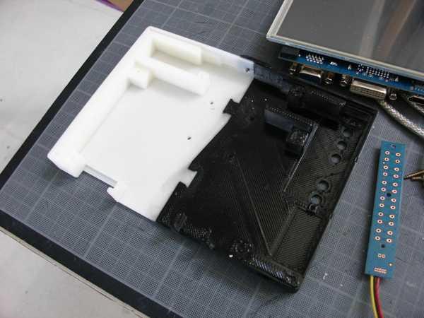 Toptan Inmoov İçin 7 Dokunmatik Monitör Ls-7T İçin Kutu Kılıf Plastik Aparat