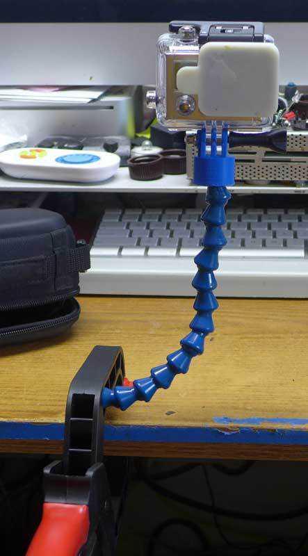 GoPro Hat Tutucu Holder Montajı Aparatı Organizer Askı