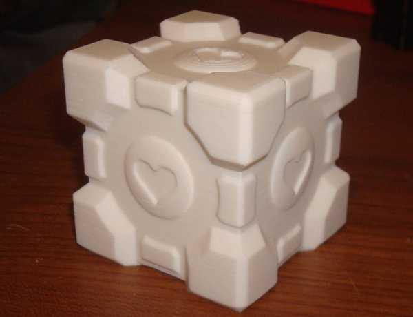 Companion Cube Yükseltmesi Hediyelik Süs Eşyası Aksesuar