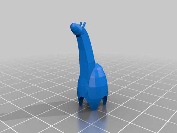 Oyuncak Zürafa Plastik Aparat