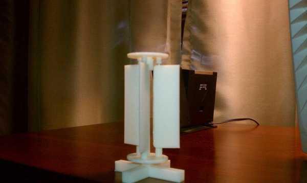 Dikey Yel Değirmeni - Ayarlanabilir Yüzecek Açıları Plastik Aparat
