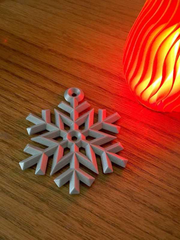 Kar Tanesi Süsleme Hediyelik Dekoratif Asma Çam Ağacı Yılbaşı