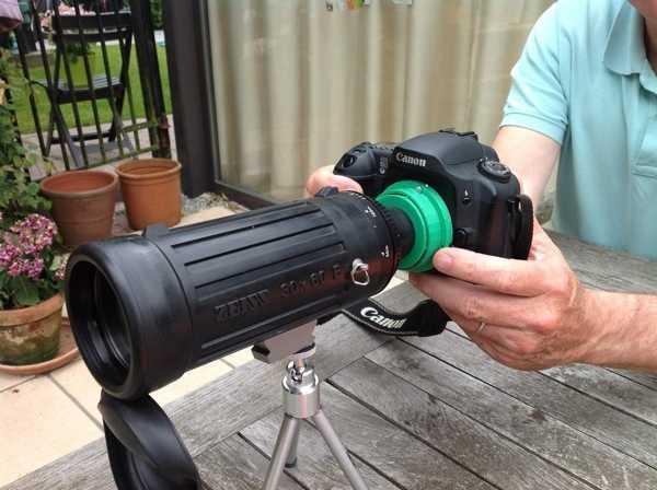 Canon Ef Digcoping Tutucu Plastik Aparat