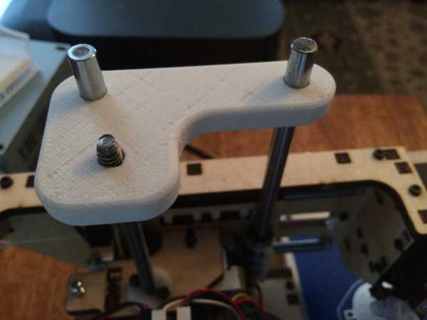 Toptan Printrbot İçin Z İplik Stabilizatörü Basit Plastik Aparat