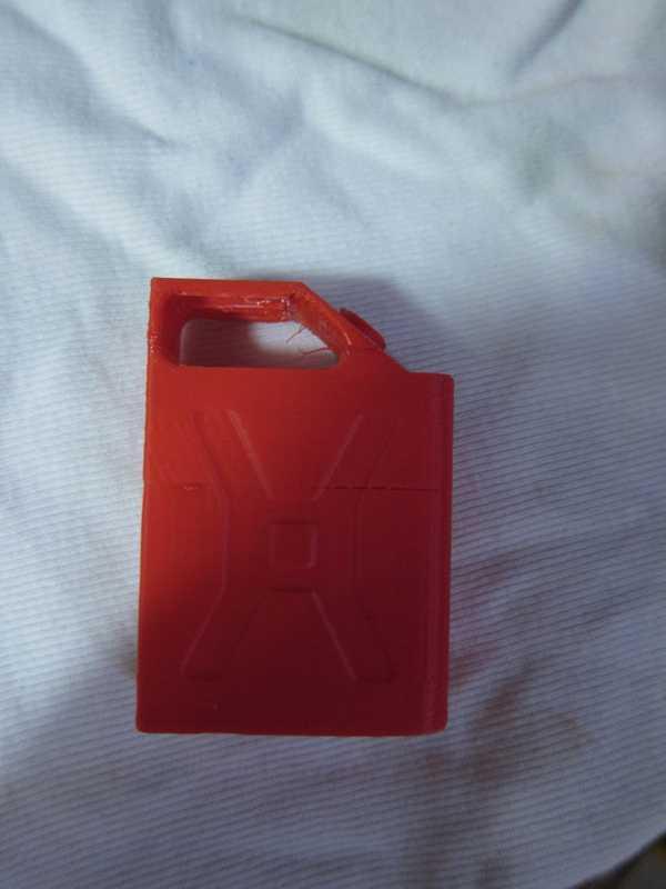 rc gaz kutusu (bidon) 1: 10/1: 12 Dekoratif Aksesuar Süs Eşyası