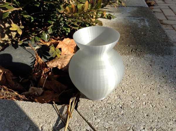 Basit Küçük Vazo Biblo Dekoratif Hediyelik Süs Eşyası Maket