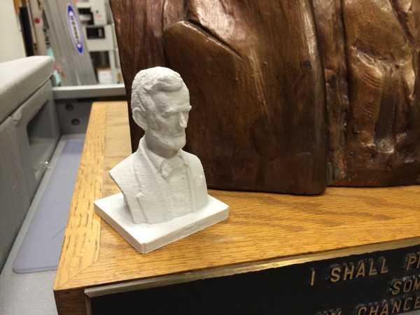 Toptan Abraham Lincoln'ün büstü Heykeli Dekoratif Biblo Dekor Hediyelik