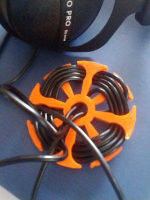 Kulaklık kablosu sargısı Tutucu Dekoratif Aksesuar Aparat