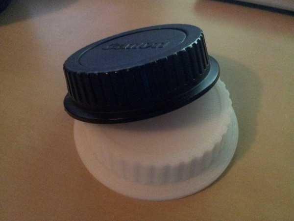 Canon Efs Lens Kapağı Plastik Aparat