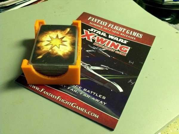 X-Wing miniatures Oyun Kart Tutucu Organizer Aksesuar Aparat