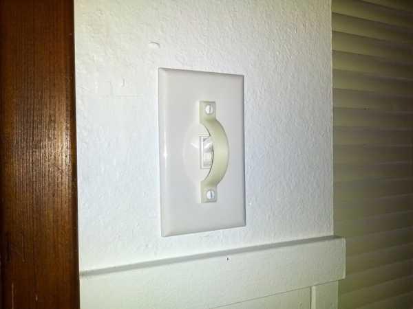Işık anahtarı koruması lamba butonu engelleyicisi Aparatı
