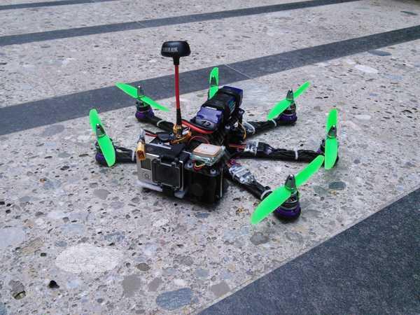 Toptan Pollux v2 Hexacopter, 10 ° öne açılı Motorlu  Organik Plastikten