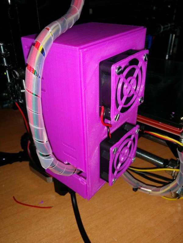 Caja Refrigerada De Electrónica Arduino Mega 2560 Y Rampaları 1.4 Para Prusa I3 Plastik Aparat
